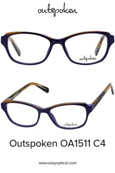 OUTSPOKEN OA1511 C4 Eyewear, Easy, Style, Swag, Eyeglasses, Stylus, General Eyewear, Sunglasses, Eye Glasses