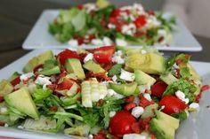 Carolina Charm: BLTA Chopped Salad