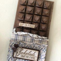 """98 likerklikk, 13 kommentarer – HildeRøisehagen (@hilderoisehagen) på Instagram: """"Lyst på sjokolade? 🙊🍫 sjokoladekort syns jeg det er utrolig morsomt å lage 👍🏼#sjokolade…"""""""