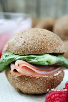 These low carb sandwich rolls have a crisp crust, with a soft interior. This recipe is low carb, gluten free, and a Trim Healthy Mama Fuel Pull!