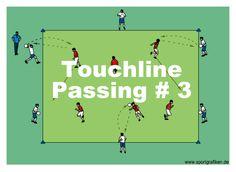 http://www.top-soccer-drills.com/touchline-passing--3.html #Passing #Soccer #Drills #PassingSoccerDrills