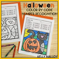 Elementary Education, Upper Elementary, Halloween Color By Number, Math Fact Practice, Math Facts, Halloween Coloring, Math Resources, Classroom Management, Teacher