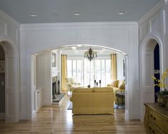 Entry Arch Crown Molding Design Pictures Remodel Decor And Ideas Doorway
