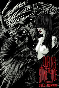 Queens of the Stone Age Poster by Kraken (via OMG Posters)