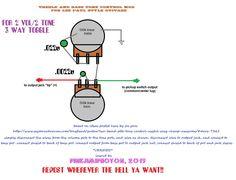 2fcfcd537e7236845addd401cb70c334  Humbucker Pickup Wiring Diagram With Treble Bleed on