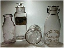Milk bottle - Wikipedia, the free encyclopedia