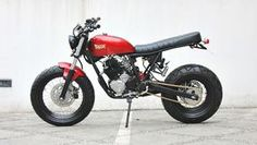 "MotoGp: Yamaha Scorpio ""The Red Tracker"" by Studio Motor"