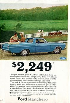 1966 Ford Ranchero Advertisement Readers Digest July 1966 (by SenseiAlan)