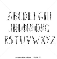 Cute Alphabet Letters Look Like Feathers On A Arrow Via Floresita