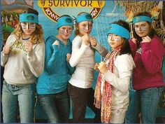 Ready for the Party! For my daughter's 5th-grade send off celebration the theme was a Survivor party. Here are some of the highlights... BEFORE THE PARTY Starting a week