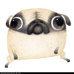 Of course we need some pug art