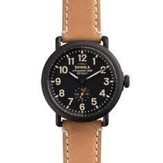 THE RUNWELL 41mm Black  Watch