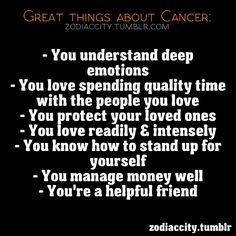 Zodiac City: Cancer.