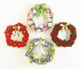 Floral Year of Wreaths - Set 3 - Sept to Dec Crochet Pattern