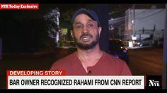 Bar owner recognized RAHAMI || NJ bar owner found bombing suspect sleepi...