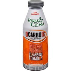 BNG Herbal Clean QCarbo16 Detox Orange  16 Oz 10 Pack -- You can get additional details at the image link.
