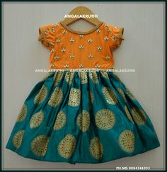 Tradational frock designs by Angalakruthi-Bangalore boutique