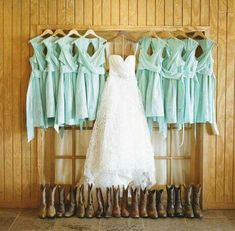 Love boots with the dresses