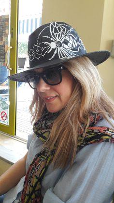 Baby Girl/'s Pintado lema Algodón Sombrero