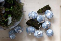 Udawane betonowe jajka - tutorial Step by step tutorial on faux concrete eggs. Concrete, Eggs, Diy, Bricolage, Egg, Do It Yourself, Homemade, Diys, Egg As Food