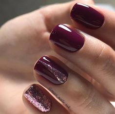 Love love this fall manicure