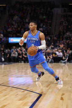 dbb885f4 #WeAreThunder: Oklahoma City Thunder v Minnesota Timberwolves Russell  Westbrook, Minnesota Timberwolves, Nba