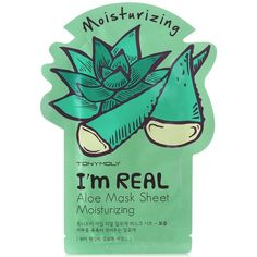Tonymoly I'm Real Sheet Mask ($3) ❤ liked on Polyvore featuring beauty products, skincare, face care, face masks, tonymoly mask, hydrating mask, face mask, hydrating face mask and facial mask