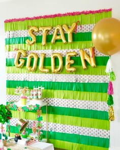 Stay Golden Party Ba