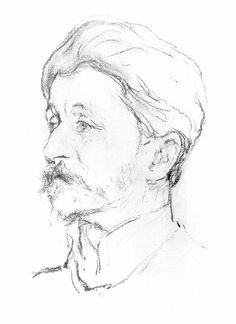 Vrubel M by Serov-1907 - Врубель, Михаил Александрович — Википедия