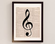 Hey, I found this really awesome Etsy listing at https://www.etsy.com/listing/186358488/treble-clef-art-print-music-art-print-on