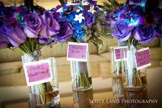 Peacock bouquets for bridesmaids - Rose Court Garden Wedding: Adriane + Vishu | Magical Day Weddings | A Wedding Atlas Fan Site for Disney Weddings