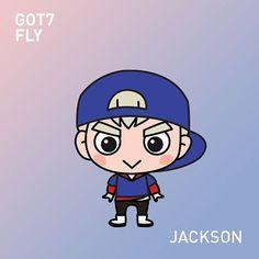 Jackson gotoon from fly series! :) #got7 #gotoon #got7jackson #jackson #got7fly #갓세븐 #잭손 #jacksonwang