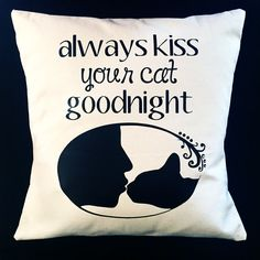Just a sweet little reminder. Pillow Cover