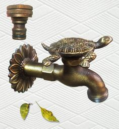 Brass Turtle Garden Outdoor Faucet - With A Brass Connecter, 2015 Amazon Top Rated Faucets #Lawn&Patio