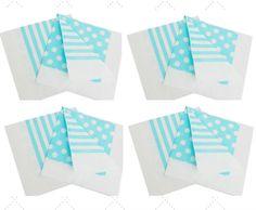 Combo - 5 pacotes Guardanapos Azul