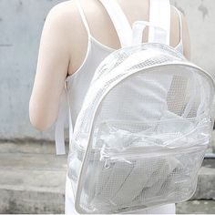Hey, I found this really awesome Etsy listing at https://www.etsy.com/listing/218875950/clear-backpack-transparent-rucksack
