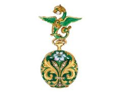 An Art Nouveau Enamel and Gold Lapel Watch, circa 1900 « Dupuis Fine Jewellery Auctioneers