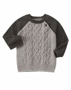 NWT Gymboree Baby Boy KING OF COOL Gray Cable Knit Pullover Sweater Size 12-18M #Gymboree #Pullover #CasualDressyEverydayHoliday
