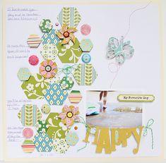 #papercraft #scrapbook #layout. New Designer Spotlight: Sasha Farina and Patricia Roebuck