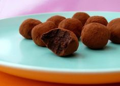 Raw Almond Pulp Truffles