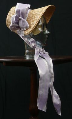 Jane Austen style bonnet...pretty.