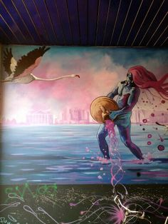 Street art Zwolle, the Netherlands