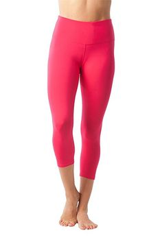 d3028404e8 Amazon.com  90 Degree By Reflex – High Waist Tummy Control Shapewear –  Power Flex Capri  Clothing