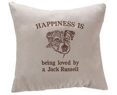 Image detail for -Happiness Dog Cushions Jack Russell
