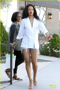 Rihanna Out in West Hollywood April 22 2014