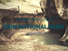 Finding Adventure in Zion National Park #SundayTraveler @AngelaTravels11 http://asoutherngypsy.com/finding-adventure-zion-national-park/  #asoutherngypsy #travel #wanderlust #nationalparks #zionnationalpark #outdoors #nature #hiking #adventure
