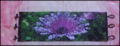 Celebration of Spring. I call it my Monet. Designed and beaded using 2 Android apps for tablets: iBeadBanner and iBeadBPix; free at Google Play Store for apps.