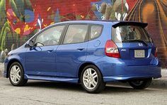 2007 Honda Fit - but mine is white!