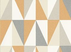 Remix  (1625/402) - Prestigious Wallpapers - An all over wallpaper design featuring a geometric tile design. Shown here in the mango colourway. Other colourways are available. Please request a sample for a true colour match. Paste-the-wall product.