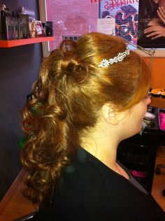 #boda #corona #peinado #recogido #peluqueria #mujer #estilo #wedding #hairstyle